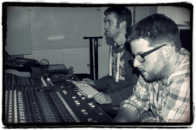 Grant in studio